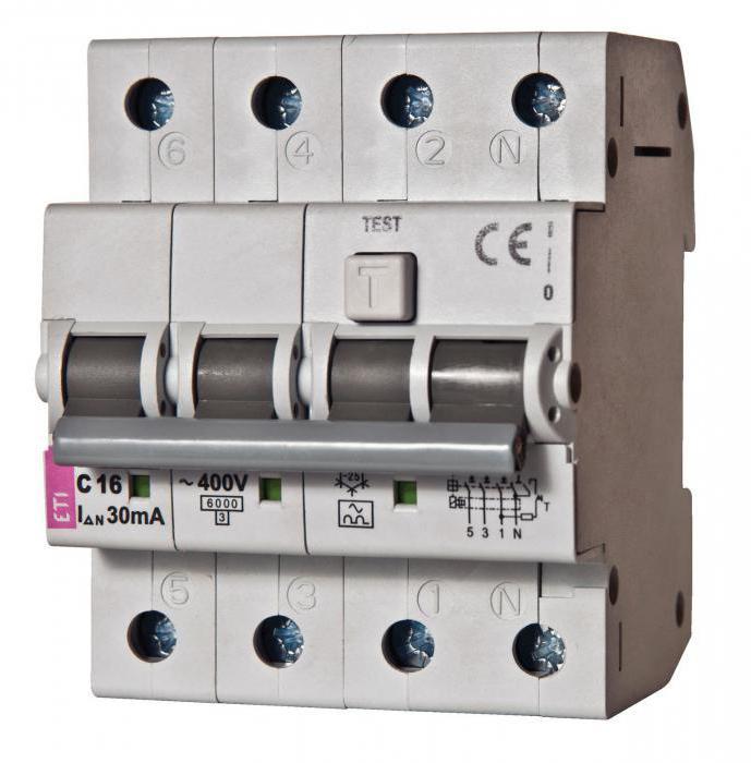 електрическа схема на узо и автомати в частна къща