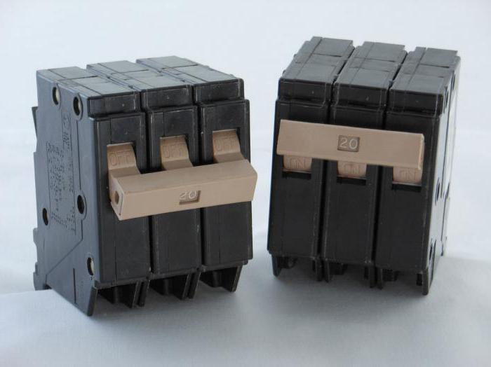 схема на свързване на узо и автоматични машини