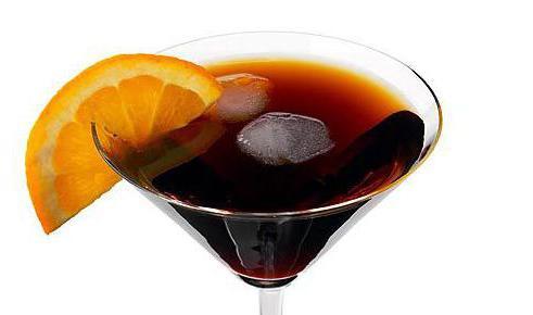 cosa succo di bevanda martini rosso