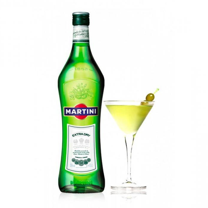 che succo bevi martini extra dry