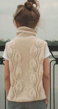 ažurne ženske igle za pletenje bez rukava