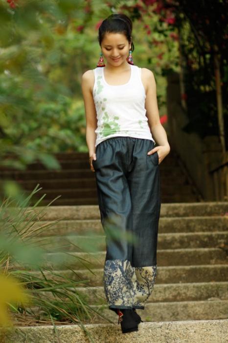 letnie spodnie damskie