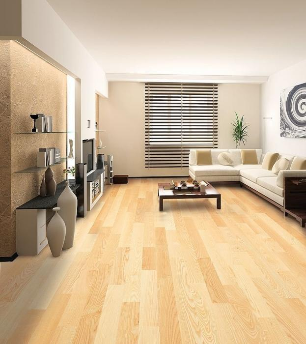 Pavimento in legno nell'appartamento