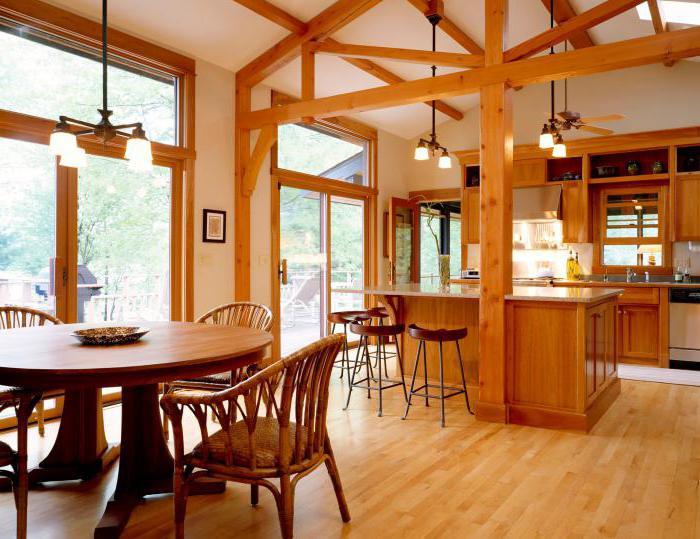 malé dřevěné kuchyně