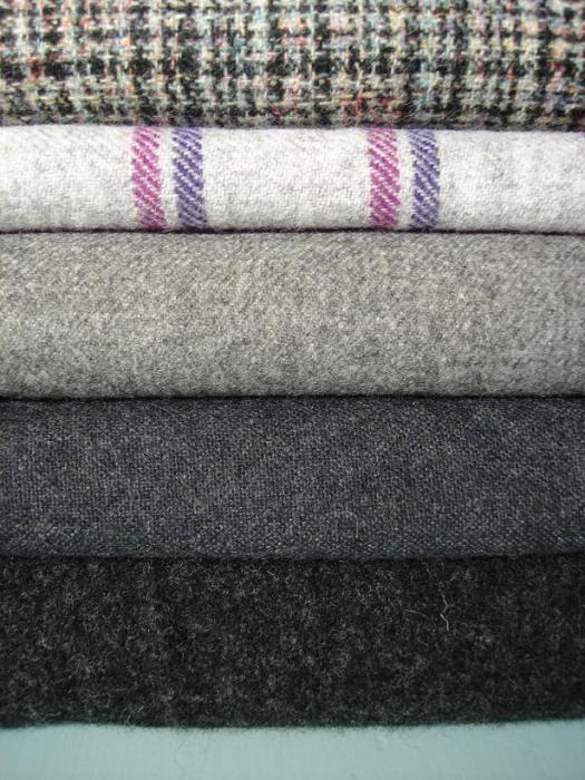 volnena tkanina za obleke