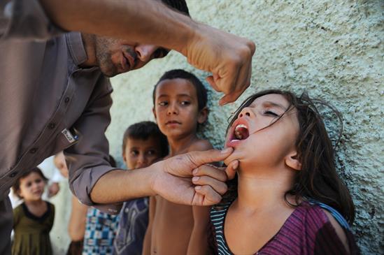 Szczepienia w Afganistanie