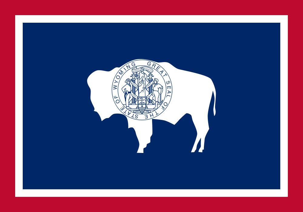 Bandiera dello stato del Wyoming