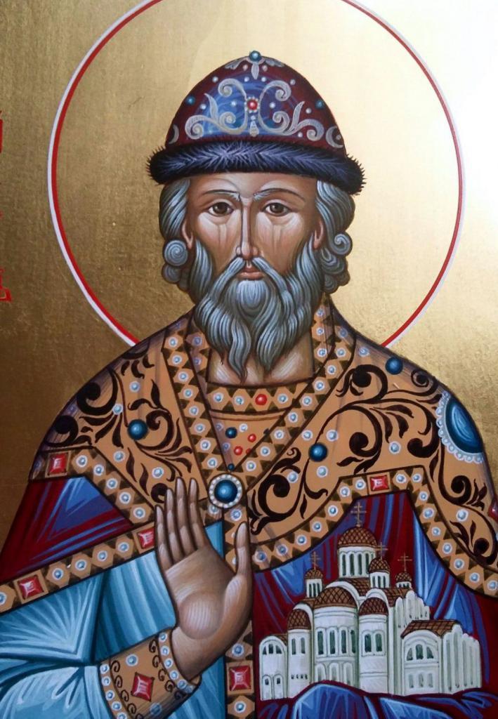 Il santo principe Yaroslav il Saggio