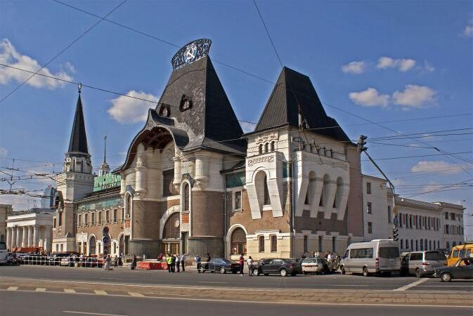 treni elettrici mosca stazione ferroviaria yaroslavsky