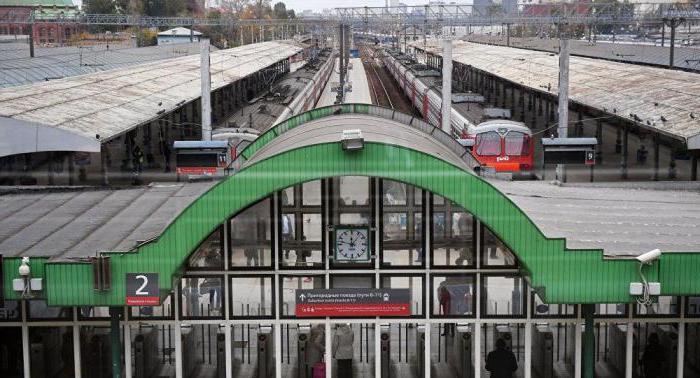 treni dalla stazione Yaroslavl di Mosca