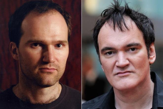 Egor Barinov e Quentin Tarantino
