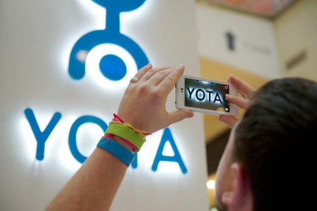 yota настройка на интернет