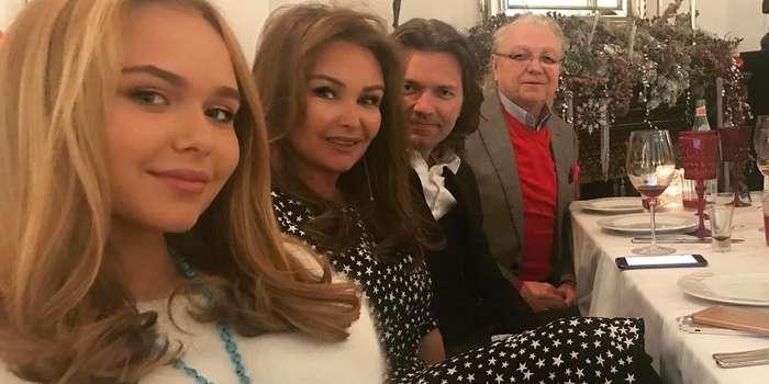 Yuri Malikov z rodziną