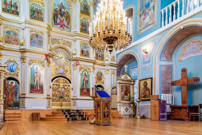 servizio nel monastero di Zaikonospassky