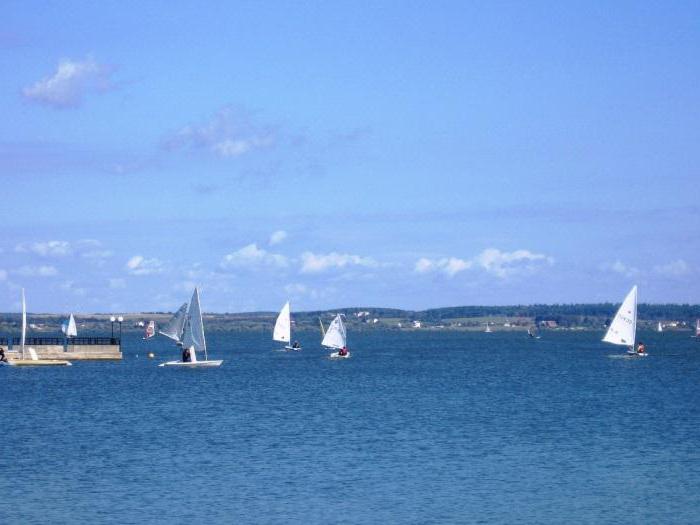 Spiagge del bacino Zaslavskoe