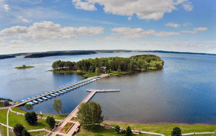 Ricreazione del bacino idrico di Zaslavskoe