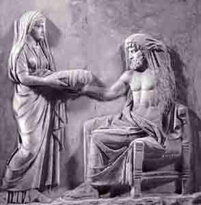 Dio titan padre di Zeus