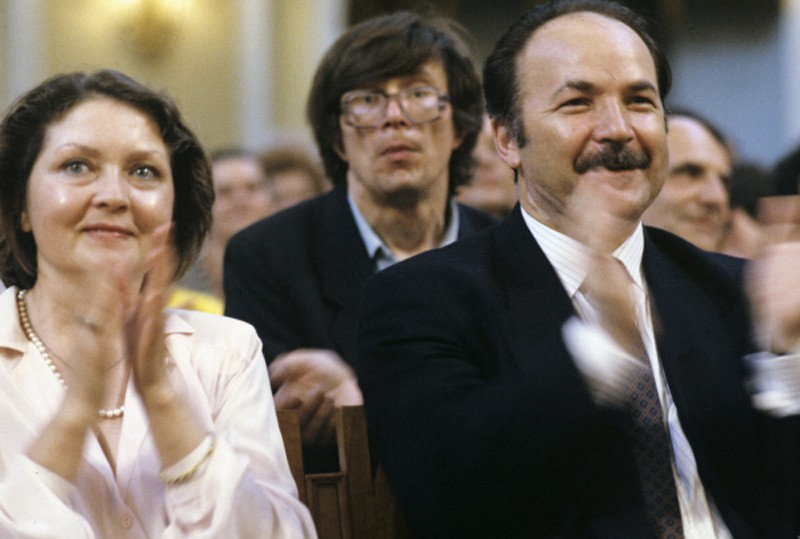 Zhanna Bolotova e Nikolay Gubenko