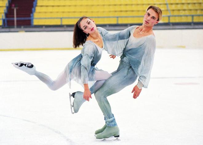Alexander Zhulin e Maya Usova