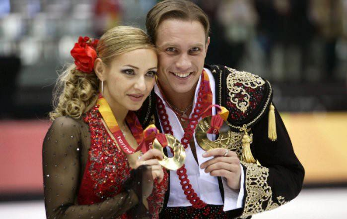 Tatyana Navka e Roman Kostomarov